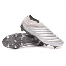 Zapatos de fútbol Copa 20+ SG Silver metallic-Solar yellow