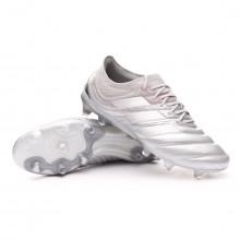 Zapatos de fútbol Copa 20.1 FG Silver metallic-Solar yellow