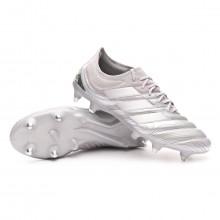 Zapatos de fútbol Copa 20.1 SG Silver metallic-Solar yellow