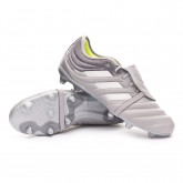 Chaussure de foot Copa Gloro 20.2 FG Grey two-Silver metallic-Solar yellow