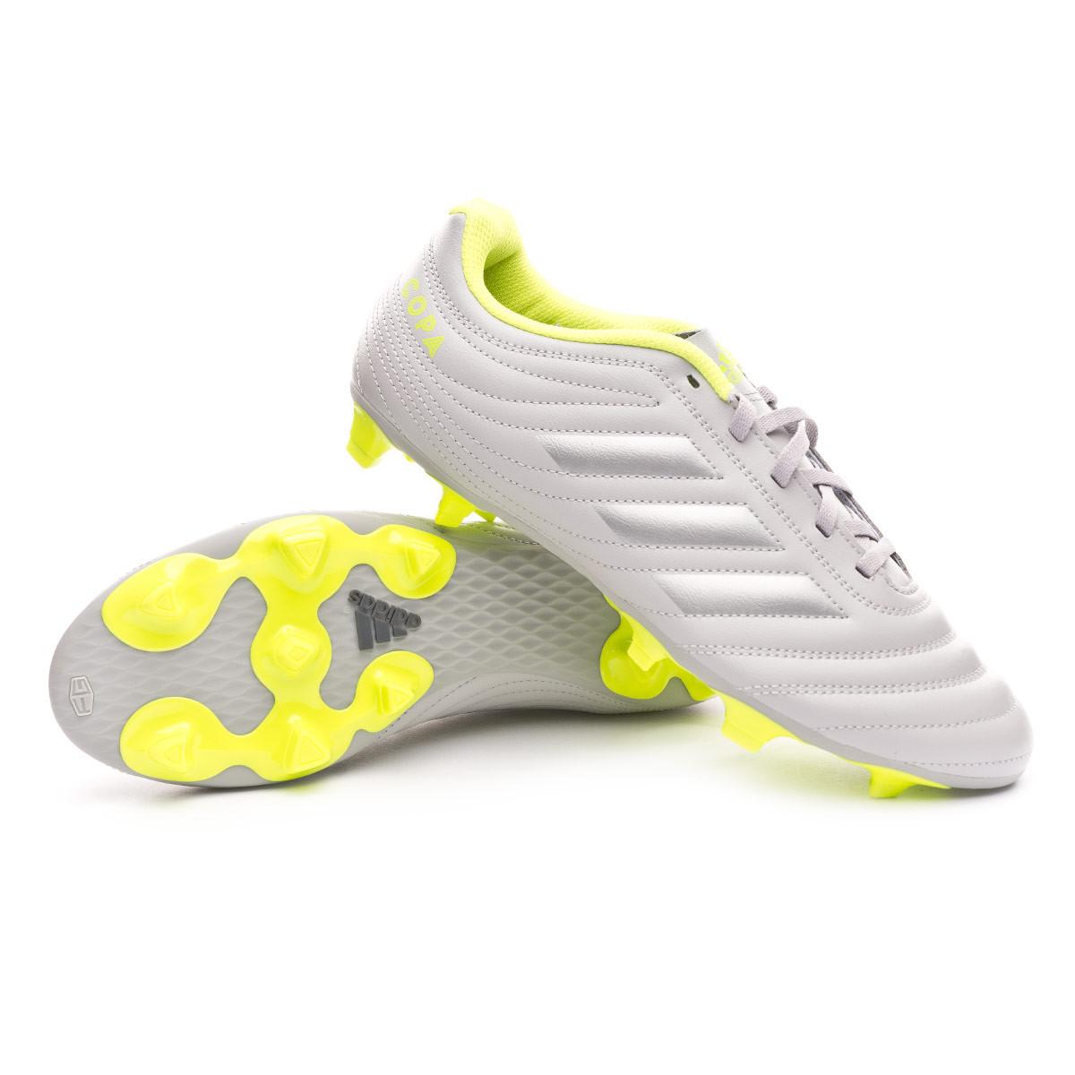 ambición pirámide igual  Football Boots adidas Copa 20.4 FG Grey two-Matte silver-Solar yellow -  Football store Fútbol Emotion