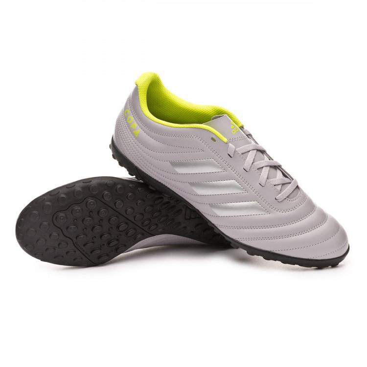 Apuesta Parecer picnic  Football Boots adidas Copa 20.4 Turf Grey two-Matte silver-Solar yellow -  Football store Fútbol Emotion