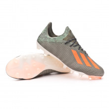 Football Boots X 19.1 AG Legacy green-Solar orange-Chalk white