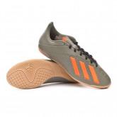Futsal Boot X 19.4 IN Legacy green-Solar orange-Black