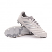 Football Boots Copa 20.3 FG Niño Grey two-Silver metallic-Solar yellow