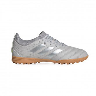 Copa 20.3 Turf Bambino Grey two-Matte silver-Grey three