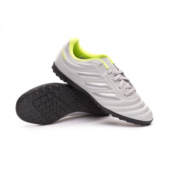 Copa 20.4 Turf Bambino Grey two-Matte silver-Solar yellow