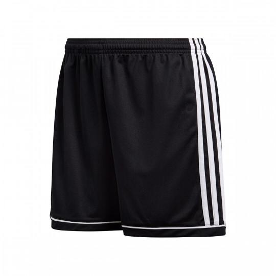 material lineal Doméstico  Pantalón corto adidas Squadra 17 Mujer Negro-Blanco - Tienda de fútbol  Fútbol Emotion
