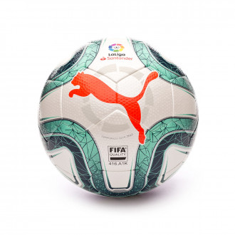 Ball Puma LaLiga FIFA Quality 2019-2020 White-Green
