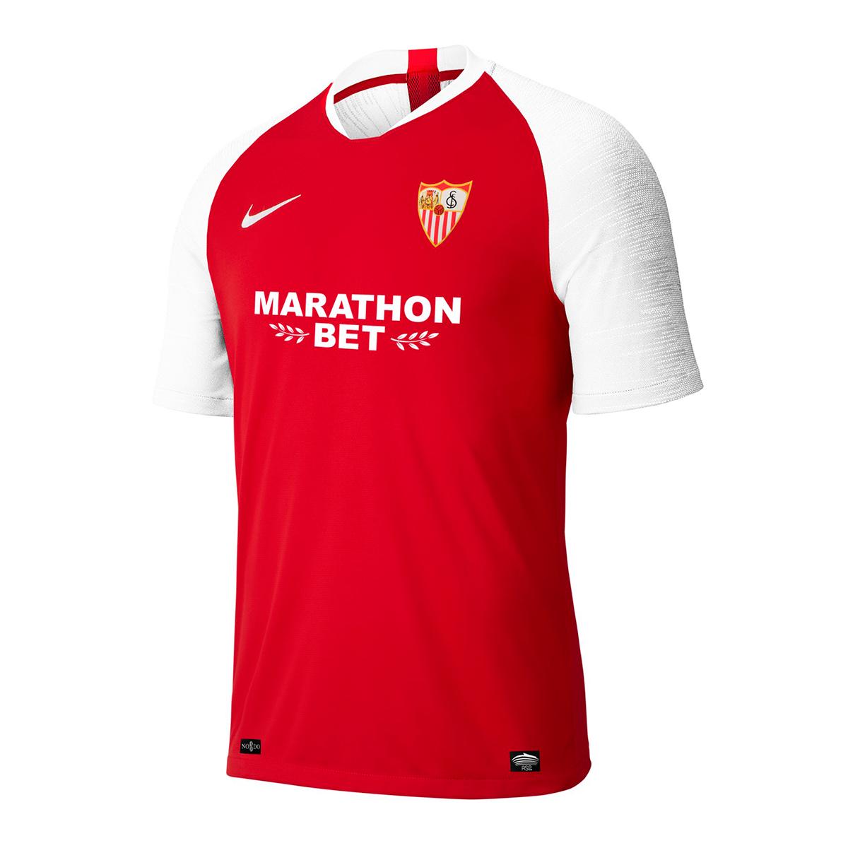 Maillot manches longues rouge Tiempo Premier Nike Ô Sports