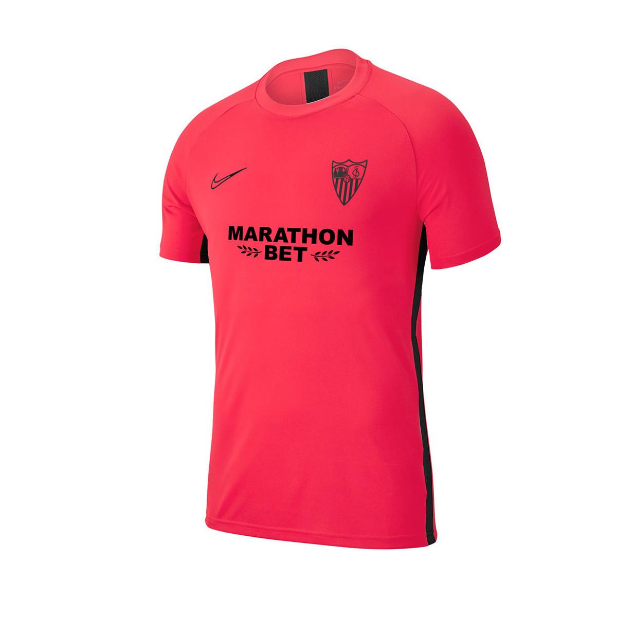 Perezoso templar Fobia  Jersey Nike Sevilla FC Training 2019-2020 Vivid cherry - Football store  Fútbol Emotion