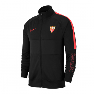 Jacket Nike Chándal Sevilla FC Paseo 2019-2020 Niño Black