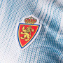 Camiseta Real Zaragoza Primera Equipación 2019-2020 White-Light blue