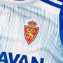 Camiseta Real Zaragoza Primera Equipación 2019-2020 Niño White-Light blue