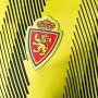 Camiseta Real Zaragoza Segunda Equipación 2019-2020 Semi solar yellow-Black