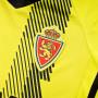 Camiseta Real Zaragoza Segunda Equipación 2019-2020 Niño Semi solar yellow-Black
