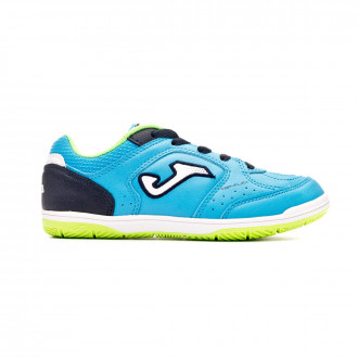 Zapatilla Joma Top Flex Inter Movistar Niño Blue-Fluor