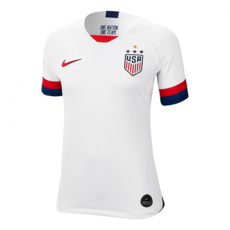 Jersey Nike Woman WWC USA 2019-2020 Home White-University red
