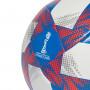 Balón Tricolor 19 White-Footbal blue-Solar red