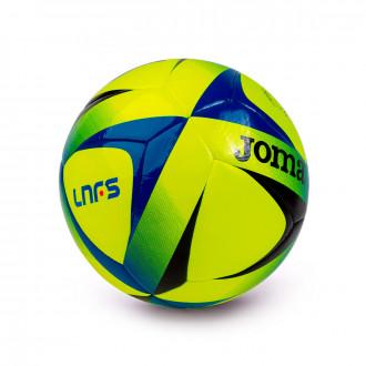 Balón Joma LNFS Sala Amarillo fluor-Negro-Azul