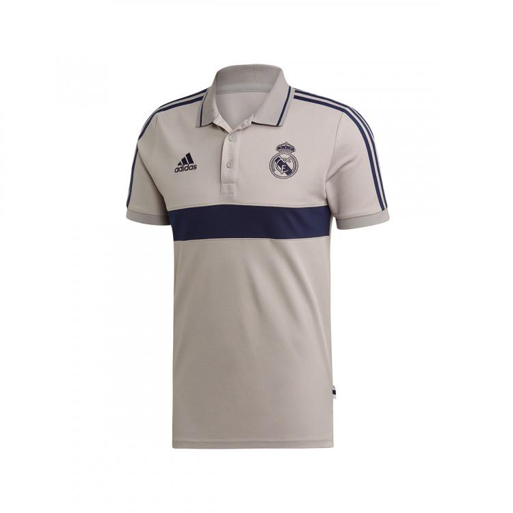 Ausencia Ruina longitud  Polo shirt adidas Real Madrid 2019-2020 Solid grey-Night indigo - Football  store Fútbol Emotion