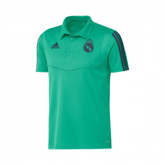 Polo adidas EU Real Madrid 2019-2020 Hi-Res green-Indigo