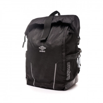 Mochila Umbro Rolltop Backpack 40L Black-Silver