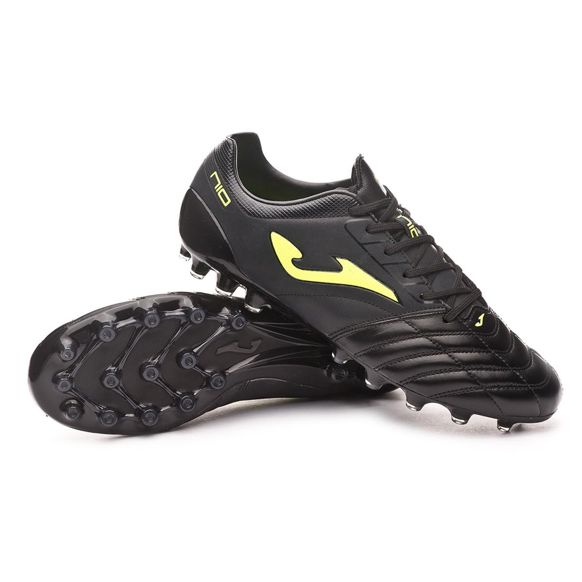 risorsa spazzato dal vento simpatia  Scarpe Joma N10 Pro Nero-Giallo - Negozio di calcio Fútbol Emotion