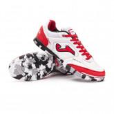 Futsal Boot Top Flex White-Red