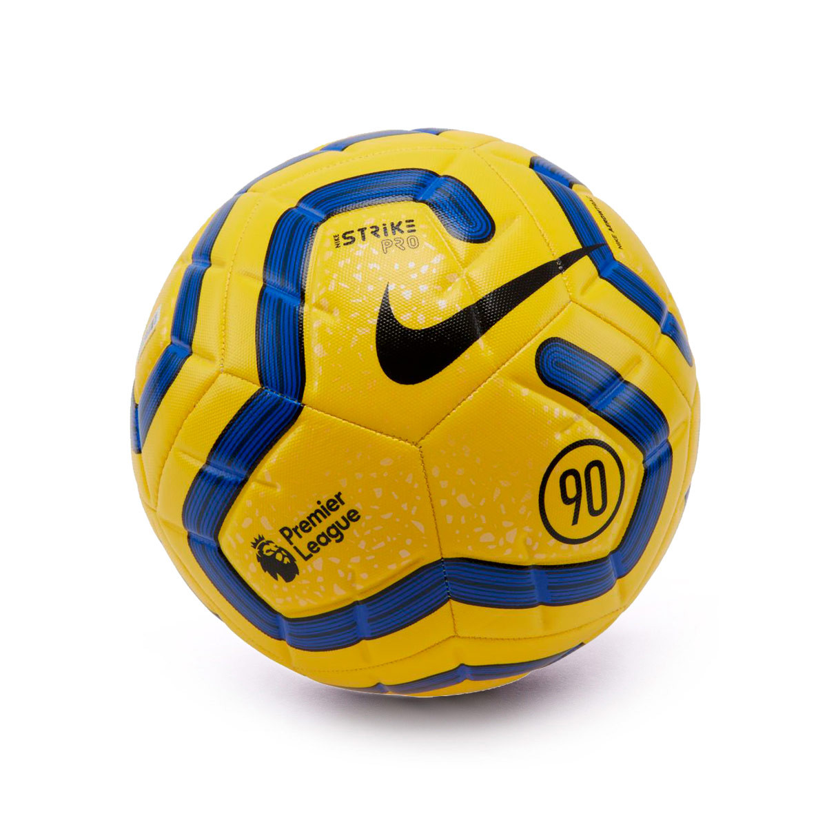 Ball Nike Strike Pro 2019 2020 Yellow Blue Black Fútbol Emotion