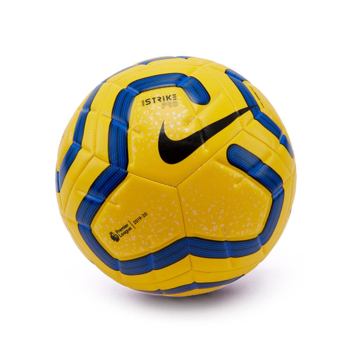 Testimoniare rappresentazione Registrazione  Pallone Nike Strike Pro 2019-2020 Yellow-Blue-Black - Negozio di calcio  Fútbol Emotion