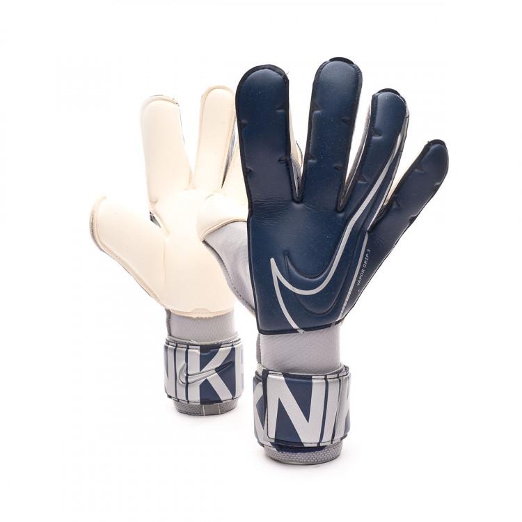 moral Huracán Generoso  Glove Nike Vapor Grip3 Blue void-Metallic silver - Football store Fútbol  Emotion
