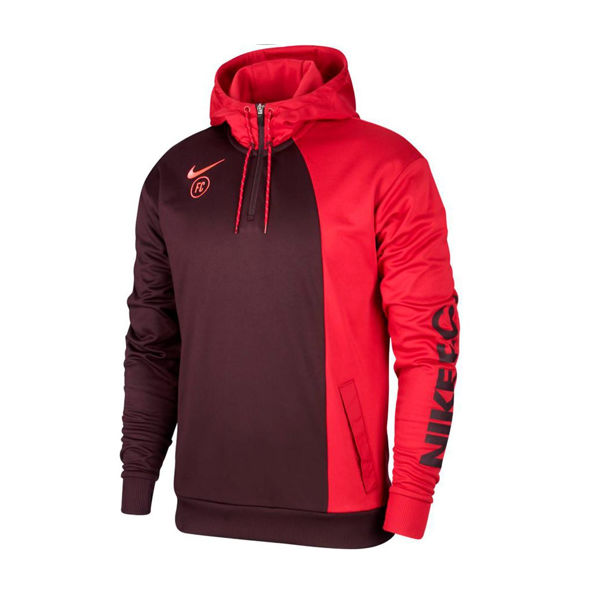 nike f.c. soccer hoodie