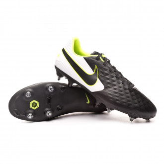 Tiempo Legend VIII Academy SG-PRO Anti-Clog Traction Black-White