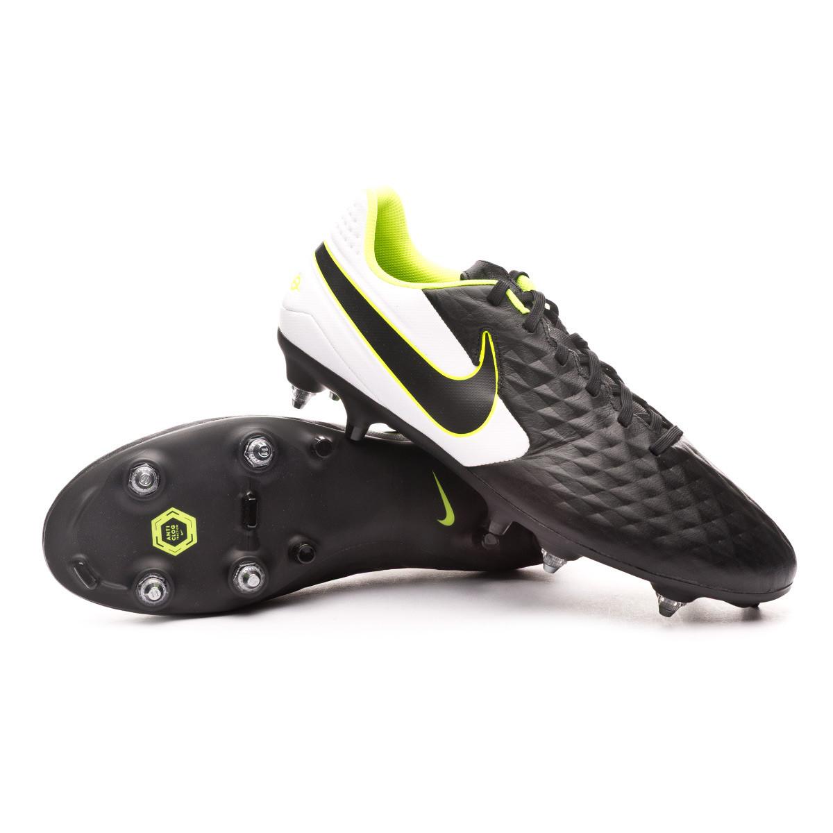 Scarpe Nike Tiempo Legend VIII Pro SG Black White Negozio