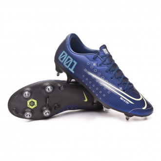 Mercurial Vapor XIII Academy MDS SG-PRO Anti-Clog Traction Blue void-Barely volt-White-Black