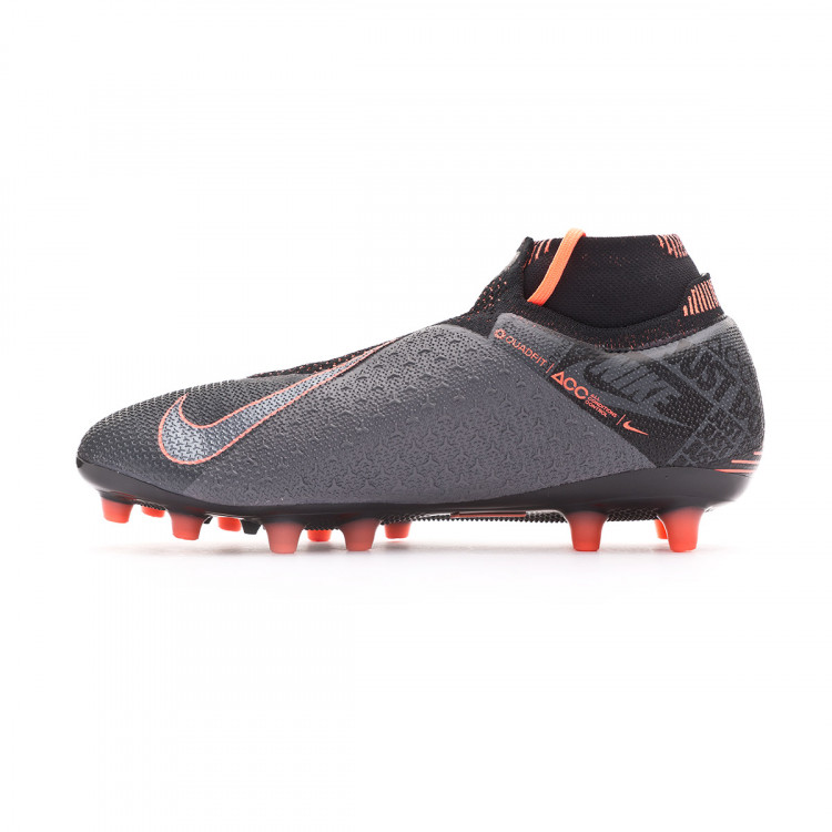 instalaciones bahía descanso  Football Boots Nike Phantom Vision Elite DF AG-Pro Dark grey-Bright  mango-Black - Football store Fútbol Emotion