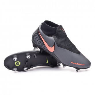 Phantom Vision Academy DF SG-Pro Anti-Clog Traction Dark grey-Bright mango-Black