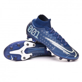 Mercurial Superfly VII Elite MDS AG-Pro Blue void-Barely volt-White-Black