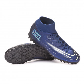 Mercurial Superfly VII Academy MDS Turf Blue void-Barely volt-White-Black