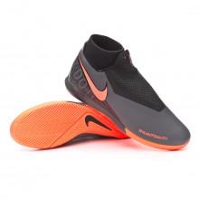 Sapatilha de Futsal Phantom Vision Academy DF IC Dark grey-Bright mango-Black