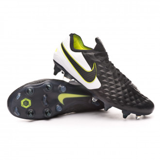 Tiempo Legend VIII Elite SG-PRO Anti-Clog Traction Black-White