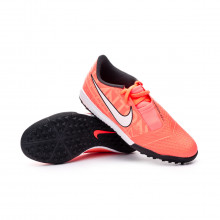 Zapatilla Phantom Venom Academy Turf Niño Bright mango-White-Orange pulse