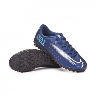 Mercurial Vapor XIII Academy MDS Turf Criança Blue void-Barely volt-White-Black