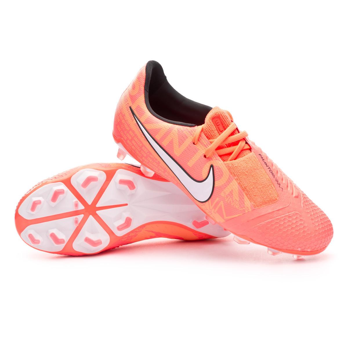 Frenesí Tulipanes chisme  Football Boots Nike Phantom Venom Elite FG Niño Bright mango-White-Orange  pulse - Football store Fútbol Emotion