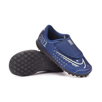 Mercurial Vapor XIII Club MDS Turf PS Cinta Adhesiva Niño Blue void-Barely volt-White-Black