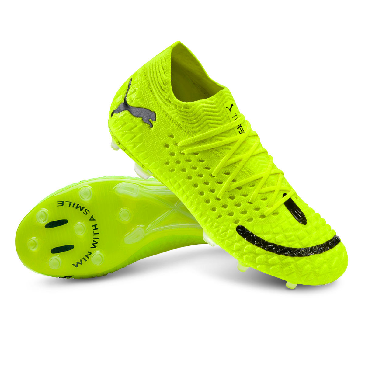 brumoso Partina City Puntuación  Football Boots Puma Future 4.1 NETFIT Grizi FG/AG Yellow - Football store  Fútbol Emotion