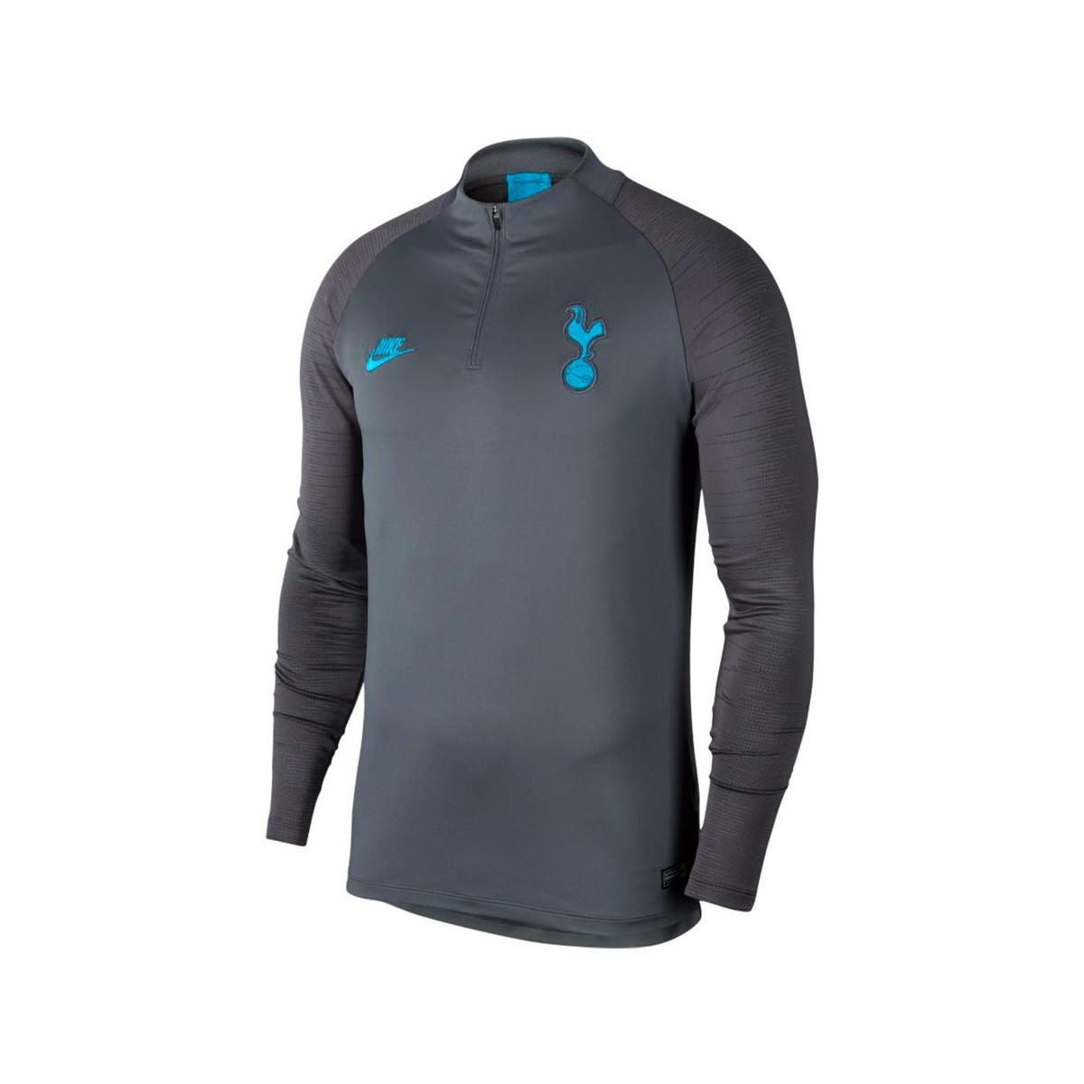 Sweatshirt Nike Tottenham Hotspur Dry Strike Dril Top 2019 2020 Flint Grey Dark Grey Blue Fury Football Store Futbol Emotion