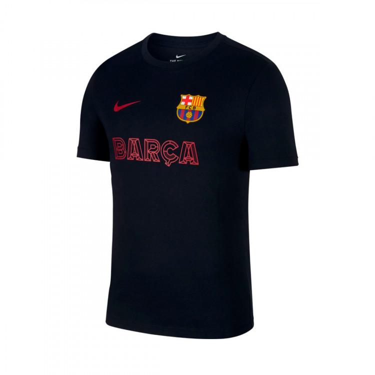 online store ab968 9bde2 Camiseta FC Barcelona Core Match 2019-2020 Dark obsidian