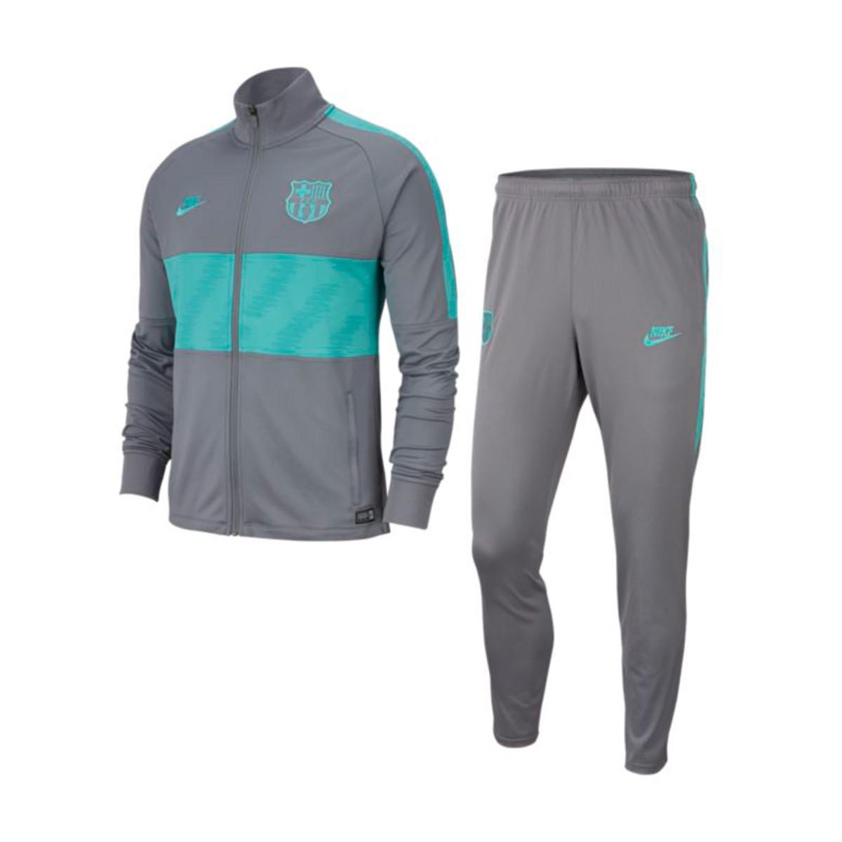 Apariencia después de esto melocotón  Chándal Nike FC Barcelona Dry Strike 2019-2020 Dark smoke grey-Cabana -  Tienda de fútbol Fútbol Emotion